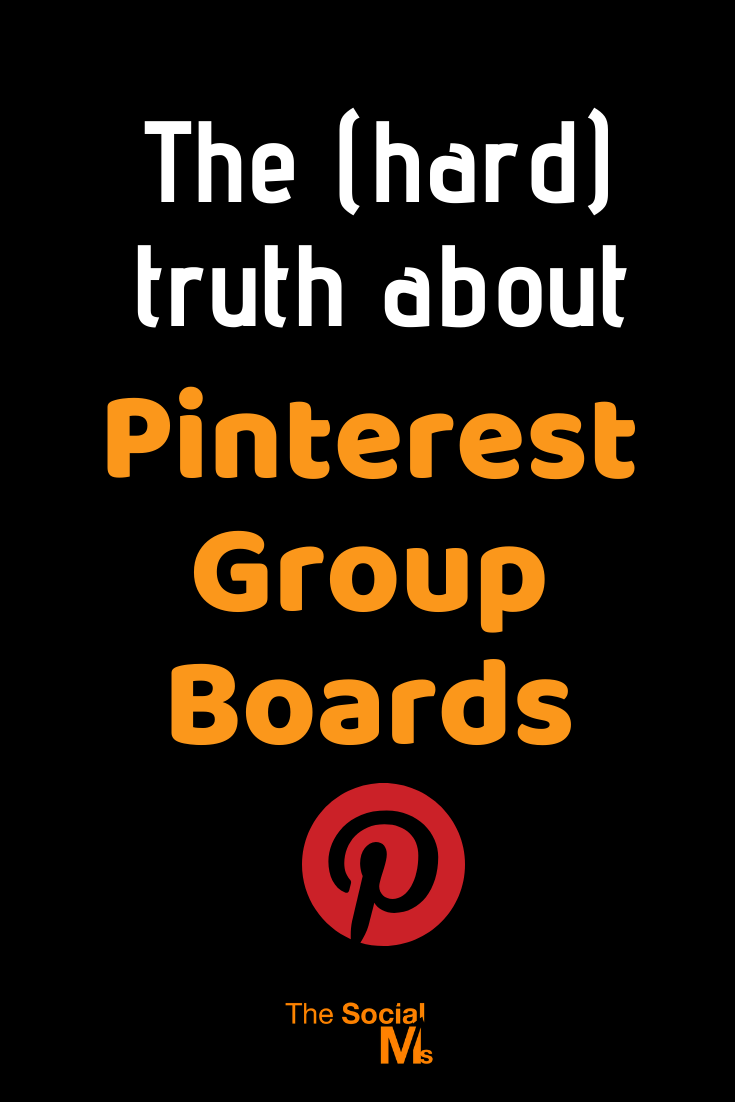 There is a lot of praise for Pinterest group boards. Some of it is a relic from older days and can be read with caution. But some of the praise is new. Even some (expensive) courses are building a strategy on the use of group boards. So what is there about Pinterest group boards? Are they good or bad? #pinterest #pinteresttips #pinterestmarketing #socialmedia #socialmediatips #socialmediamarketing