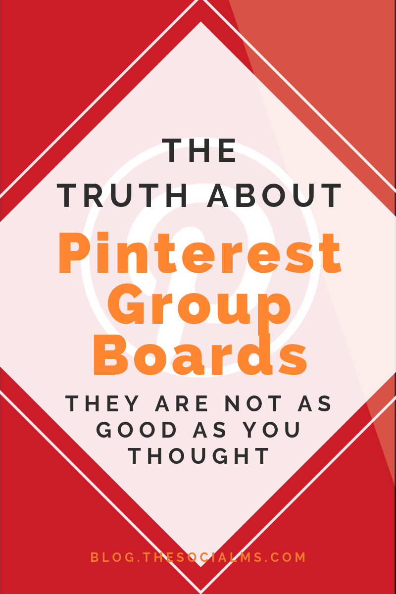 There is a lot of praise for Pinterest group boards. Some of it is a relic from older days and should be read with caution. There needs to be a serious and LOUD warning about group boards. #pinterest #pinterestgroupboards #pinteresttips #pinterestmarketing #pintereststrategy #blogtraffic