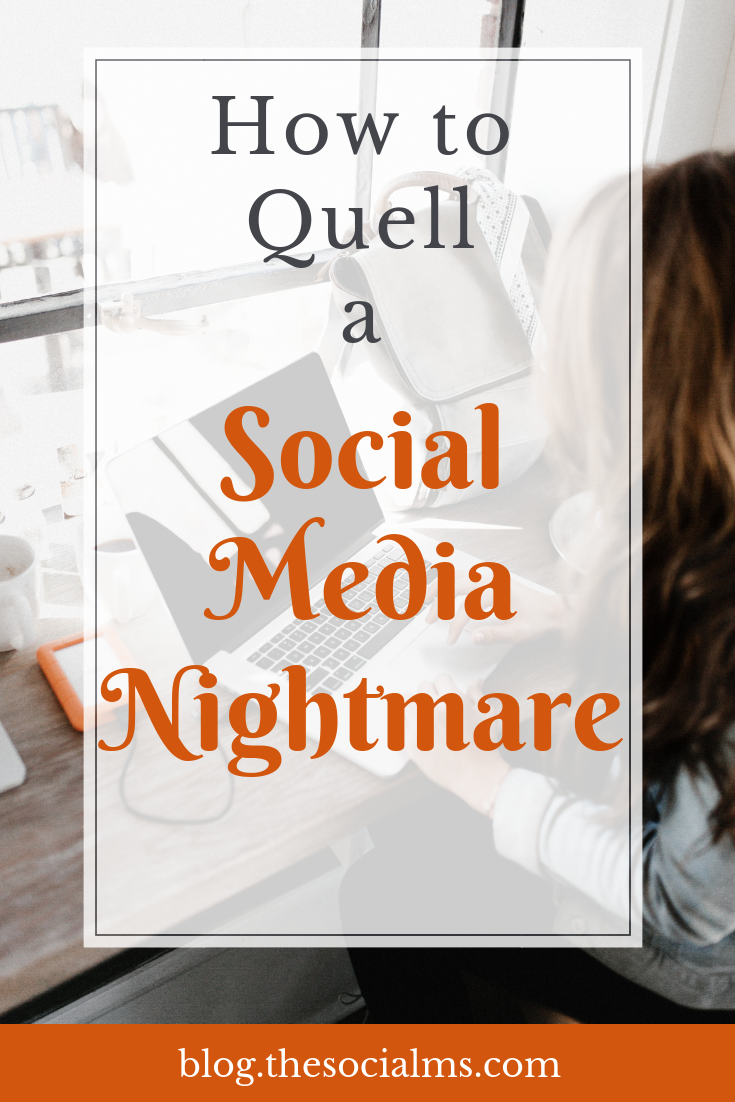 Let's take an up-close look at the steps to take in case of social media disaster - and see how real companies have dealt with a real social media nightmare. Social media mistakes happen. You should have a plan how to deal with these social media disasters #socialmediamarketing #socialmediatips #socialmediamistakes #socialmediastrategy