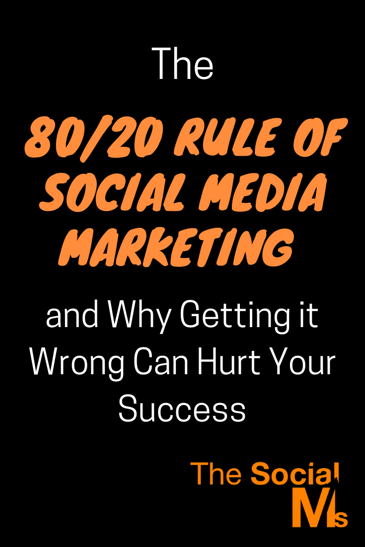 If someone tells you that you should share more of other people's content, don't simply do it, ask why you should. It could be a good idea - but it could also be bad advice from someone who did not understand what the 80-20 rule was all about! #socialmedia #socialmediatips #socialmediamarketing
