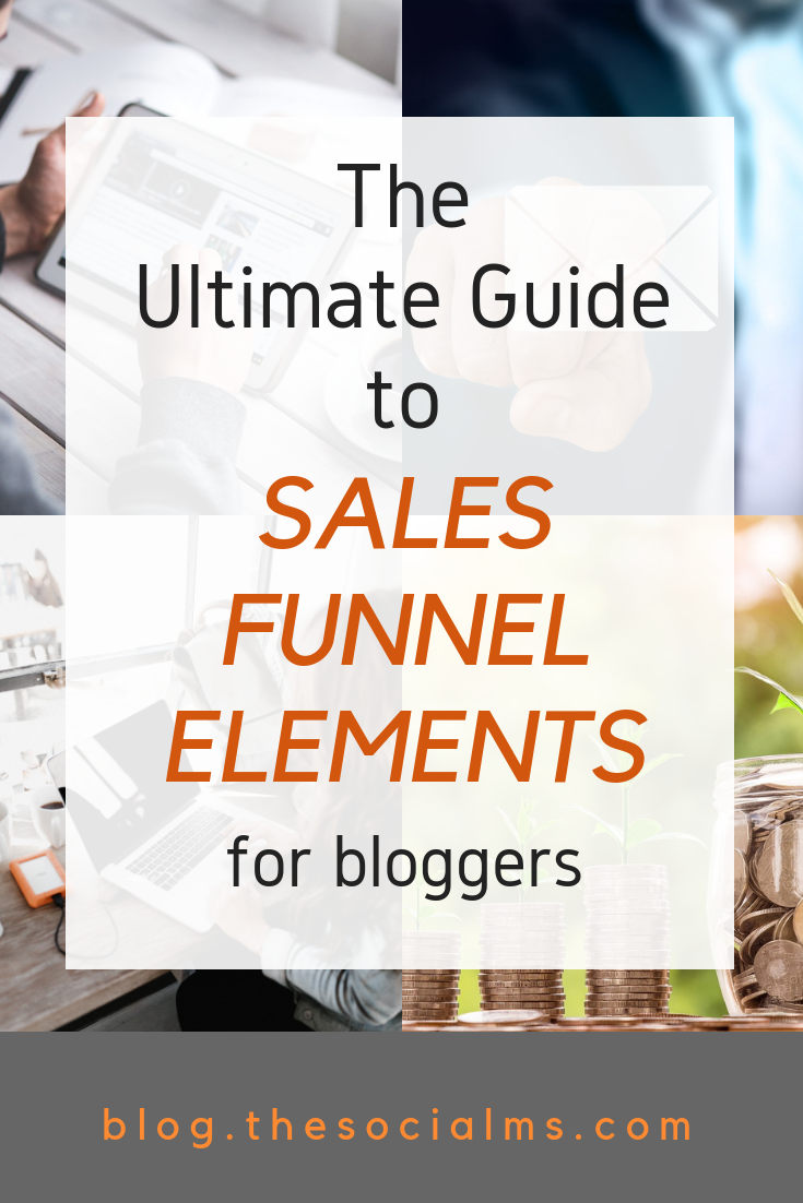 Sales Funnels: If you're blogging business isn't getting the numbers you need on your balance sheet, you probably need a sales funnel. Here how to get one! You need to build an email list, write newsletters and build trust. Then you can make sales. #salesfunnel #emaillist #makemoneyblogging #bloggingbusiness #bloggingformoney