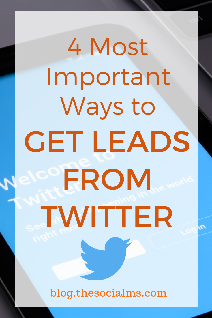 Twitter is a great place to get leads. And people are using Twitter for lead generation in almost any niche. Boost your lead generation with Twitter. #twitter #twittermarketing #twittertips #leadgeneration #getleads #bloggingtips