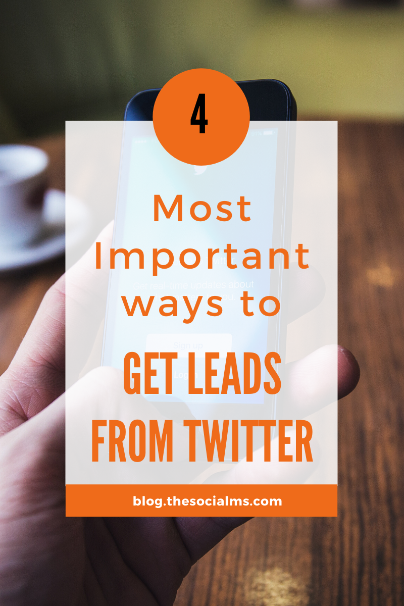 Leads from Twitter? Really? Does that work?  I have heard this or a similar remark over and over again. But the truth is that Twitter is a great place to get leads. And people are using Twitter for lead generation in almost any niche. Here are the most important ways to earn leads from Twitter. #twitter #leadgeneration #twittermarketing #twittertips #socialmedia #socialmediatips #smallbusinessmarketing