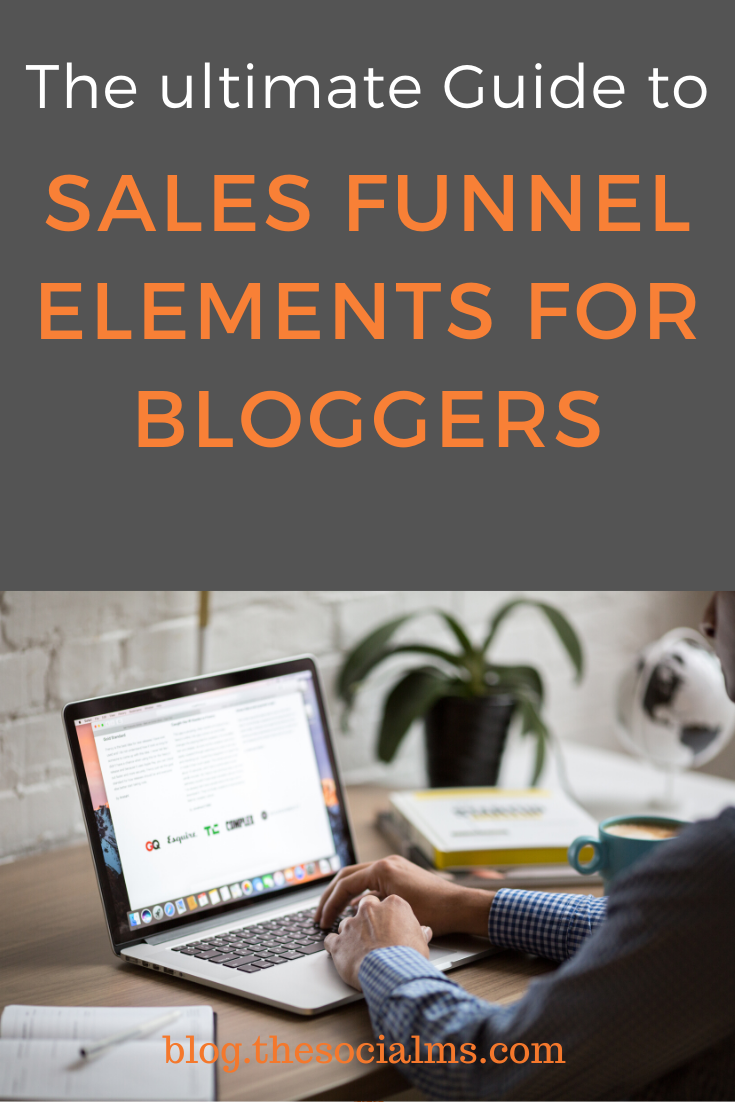 You've heard about having sales funnel, right? You're here because you know they are important for a blogging business - but you just can't figure out how to create a sales funnel that will turn your blogging business into a revenue machine, right?  #salesfunnel #blogging101 #bloggingforbeginners #makemoneyblogging #bloggingformoney #onlinebusiness