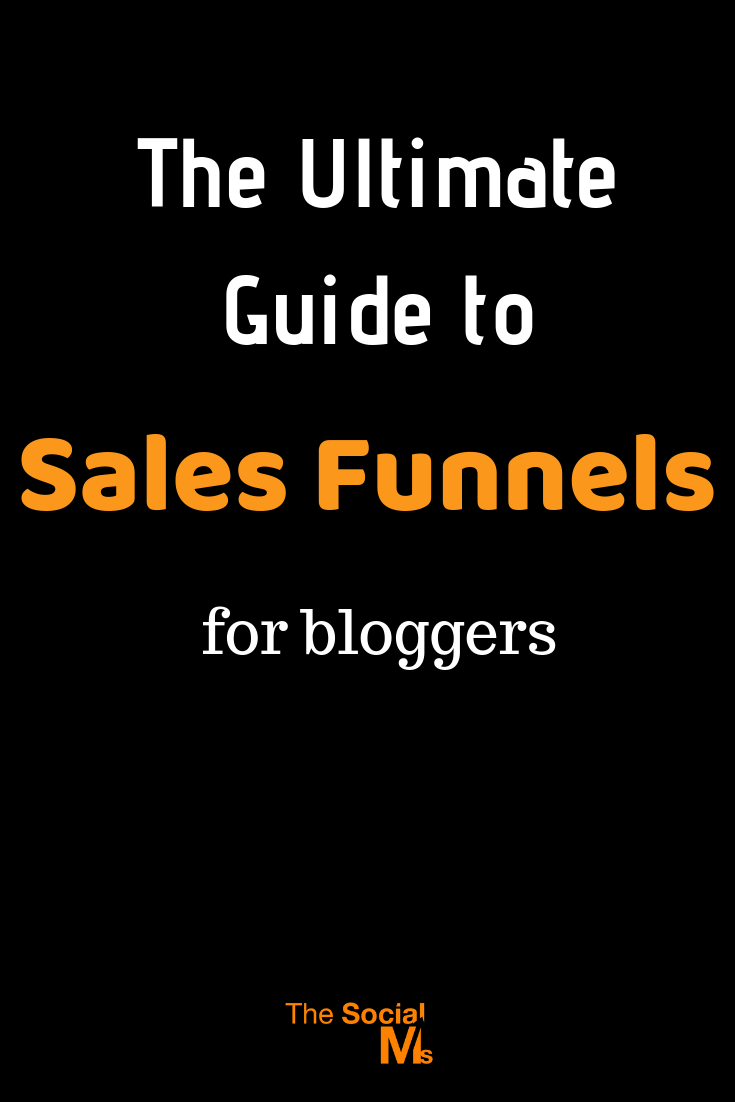 You know you need a sales funel, but you do not quite understand how you should set it up for your blog? what is a sales funnel, and what does having a sales funnel mean for bloggers? What's a sales funnel and what are sales funnel stages? #salesfunnel #leadgeneration #makemoneyblogging #emailmarketing #listbuilding #leadnurturing #bloggingtips