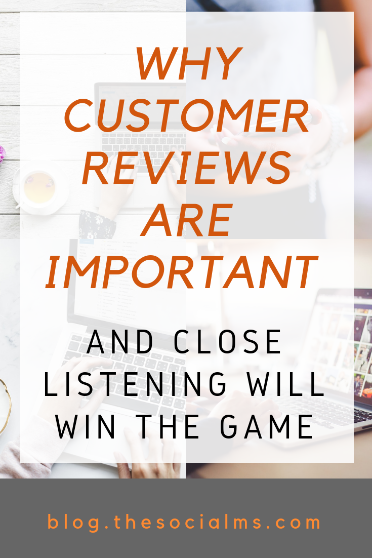 Customer reviews become an important part of buying decisions. Learn how they influence buying decisions and how listening to customers can make more sales. Boost your online business through online reviews. #onlinebusiness #makemoneyblogging #bloggingformoney #bloggingtips
