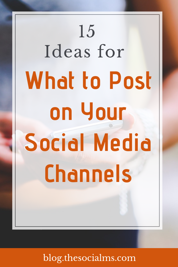 What social media posts will engage and build a relationship with my audience? Here is a variety of update ideas to not only keep your social accounts active but to also earn more reach, grow your followers and increase your engagement and interaction. #socialmediaposts #socialmedia #socialmediamarketing #socialmediaupdats #socialmediatips