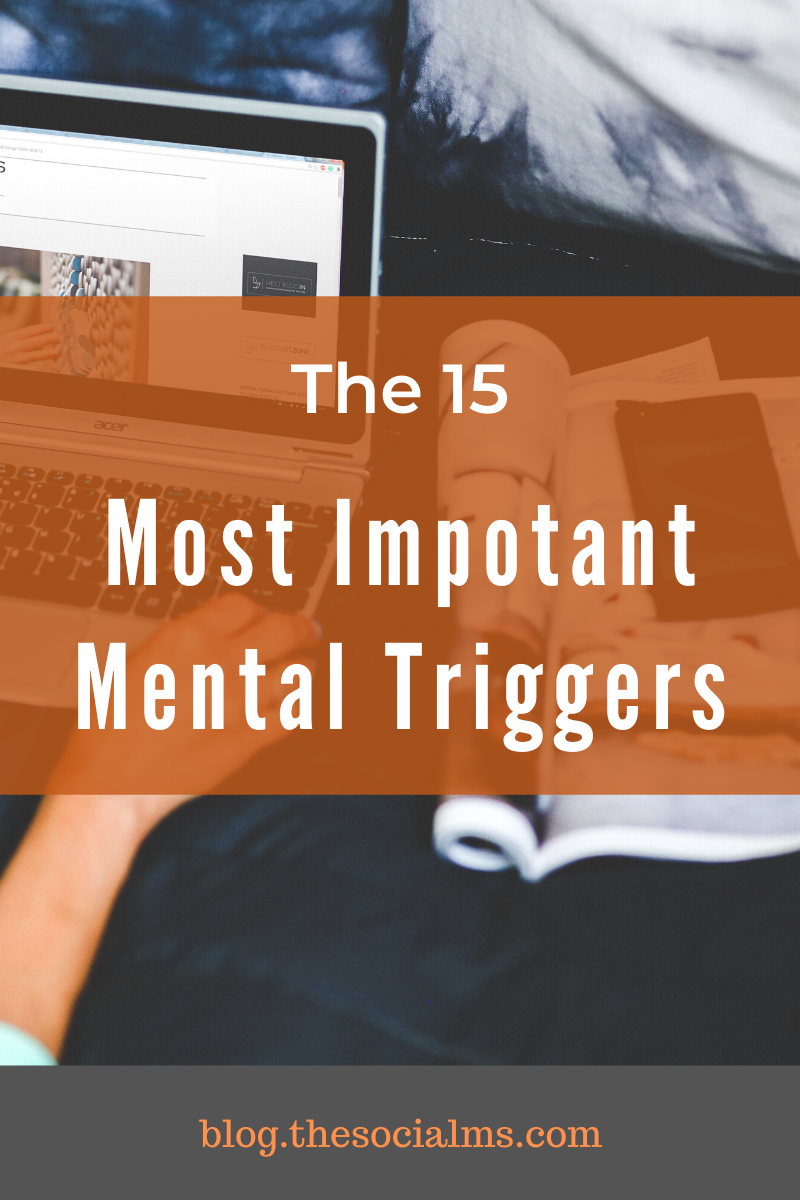Knowing about mental triggers will help you to craft better emails - but also help you to optimize your offers and landing pages and make more money.  Here are the most important mental triggers. #mentaltriggers #makemoneyblogging #bloggingformoney #bloggingtips #onlinebusiness #leadgeneration #salesfunnel