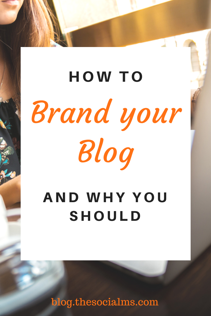 When you are starting out, you may need some time to figure out your brand image. Your blogging voice may need some time to develop. You may have to experiment with your blog images until you find the designs and layout that you want to stick with. You still need to build your brand. #branding #buildabrand #onlinebusiness #bloggingtips #bloggingbusiness #startablog #blogging101 #smallbusinessmarketing