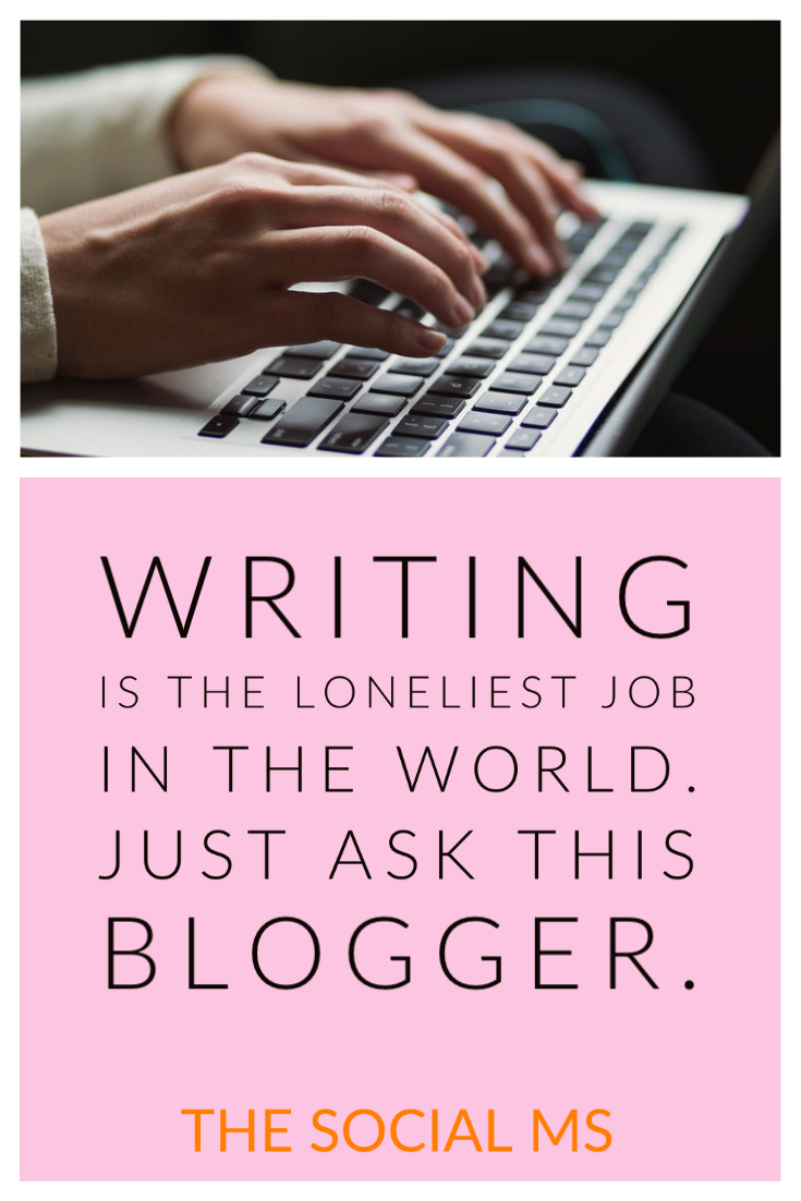 So, you want to be a blogger - or already are one. Then, hopefully, you are aware of the long lonely workdays that are ahead of you. You will experience the loneliness of blogging rather sooner than later. #blogging101 #bloggingforbeginners #startablog #bloggingtips #bloggingsuccess #bloggerlife