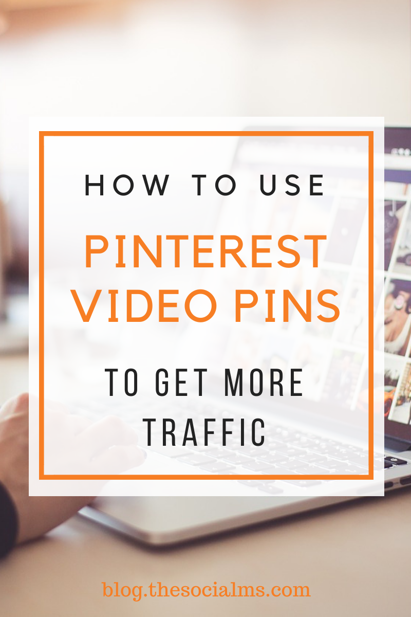 Pinterest is getting crowded - adopting new features and best practices is a way to stand out. For now, Pinterest Video Pins are still a huge opportunity to boost your blog traffic from Pinterest.  Have you tried video pins yet? #pinterest #pinteresttips #blogtraffic #socialmedia #socialmediatips #socialmediamarketing