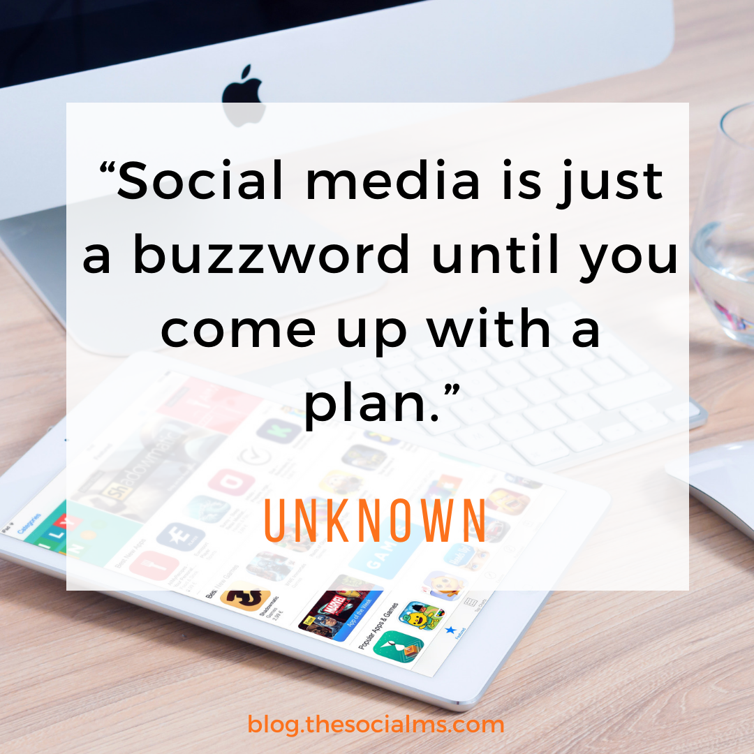 social media buzzword quote