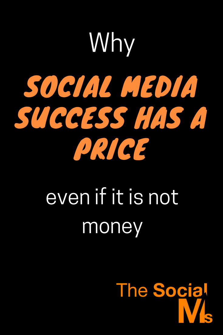 The great thing about social media marketing is not that it is easy. It is also not that it does not require work. The great opportunity of social media is that you can make it if you invest hard work instead of hard money which entrepreneurs and new bloggers do not have. Here is the price you have to pay for social media success. #socialmedia #socialmediatips #socialmediamarketing #socialmediasuccess #socialmediastrategy #marketingstrategy #digitalmarketing