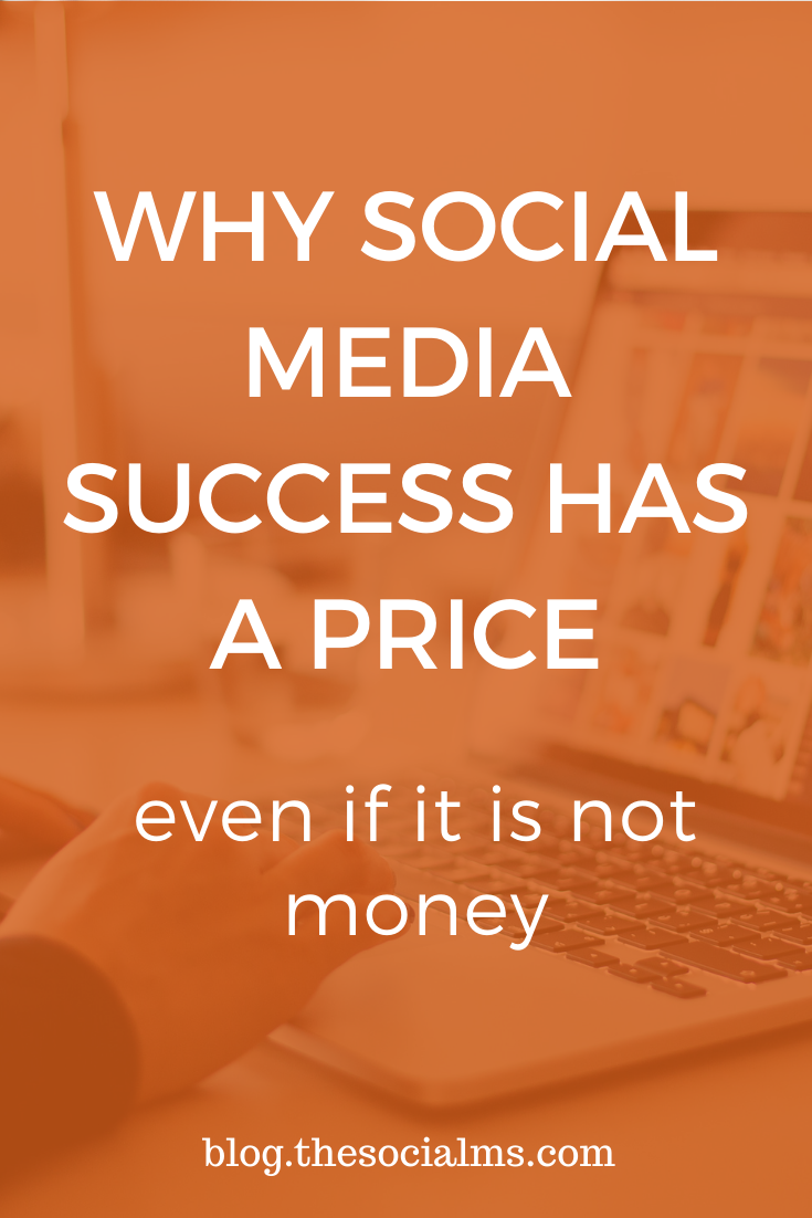 Social media marketing success has a price and you will have to pay for it. The price does not need to be money. Here is why you still have to pay for social media marketing success. #socialmedia #socialmediatips #socialmediamarketing #onlinebusiness #entrepreneurship #startupmarketing