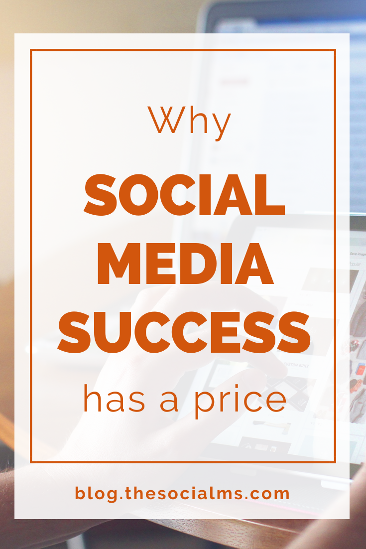 Social media marketing success is neither free nor cheap. Here is what you have to pay for your social media marketing success - even if it is not money. #socialmedia #socialmediatips #socialmediamarketing #socialmediatips #onlinebusiness #startupmarketing