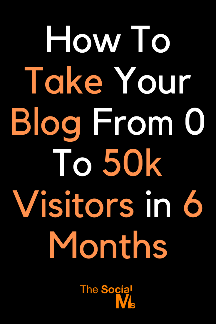 When we started this blog, we already had a proven process to get traffic to a new website. This process allowed us to grow the traffic for this blog from zero to 50k visitors per month in just half a year - not too bad for a new blog, isn't it? #Do you want to grow your traffic? #blogtraffic #trafficgeneration #blogging101 #startablog #bloggingforbeginners #bloggingtips