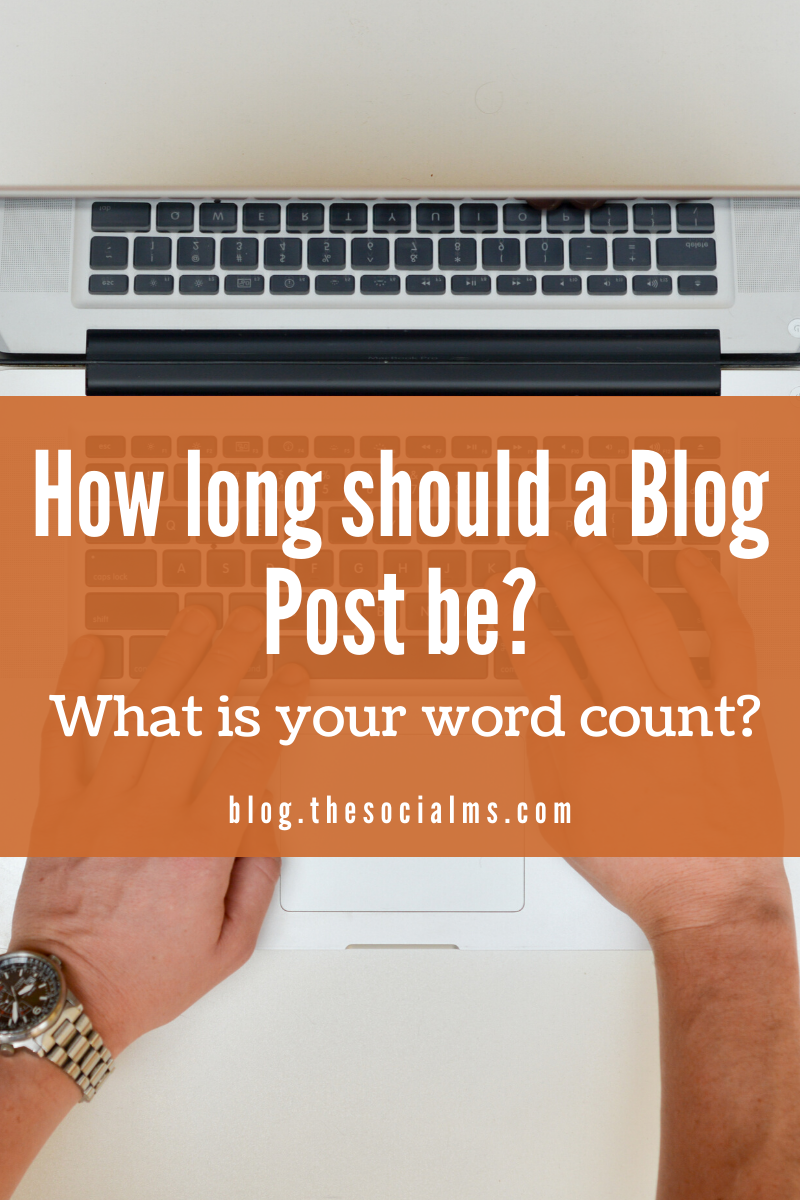 How long are your blog posts? What is the ideal length of a blog post when it comes to blogging success? What number of words is an absolute minimum for a perfect blog post and what blog post length should you aim for? #blogwriting #blogpostcreation #blogcreation #contentcreation #contentwriting #bloglength #blogging101 #bloggingtips #bloggingforbeginners #startablog
