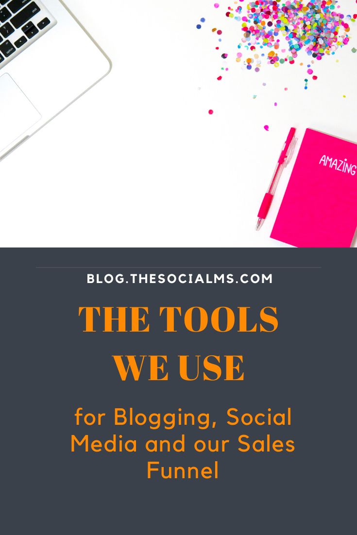 The above tools are what we currently use in our blog, social media and sales funnel. These tools will help you to get more traffic and turn your blog into a business. #bloggingtools #socialmediatools #bloggingbusiness #makemoneyblogging #bloggingformoney #onlinebusiness