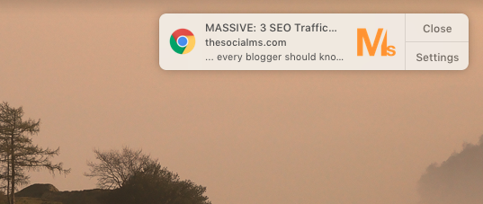 Send push notifications when you publish a blog post.