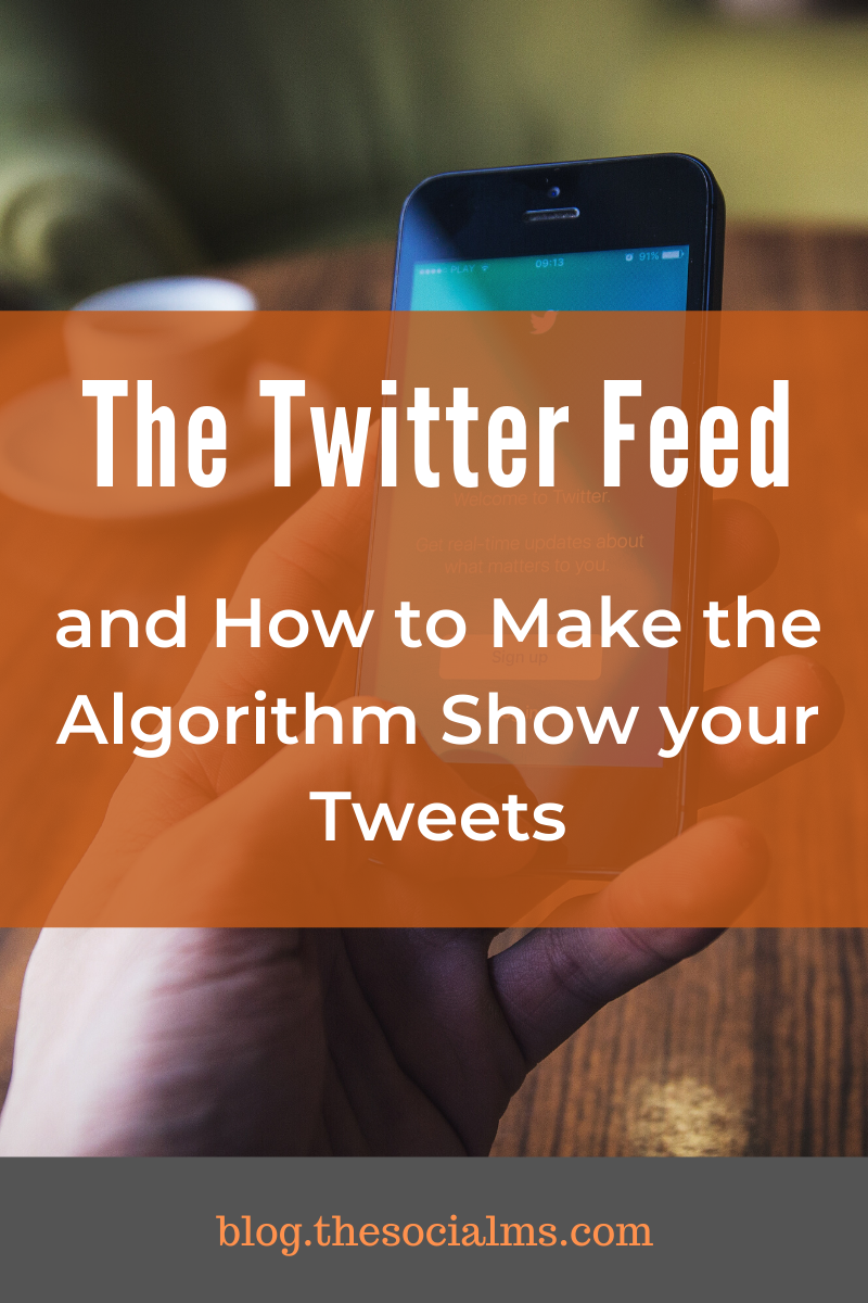 The Twitter feed is no longer chronological. To get the most out of your Twitter marketing, you need to understand the Twitter algorithm, the ranking factors and how you can increase the reach of your tweets. That is what this article is about. #twitter #twitterfeed #twittertips #twittermarketing #twitterstrategy #socialmediatips #socialmediamarketing #socialmedia