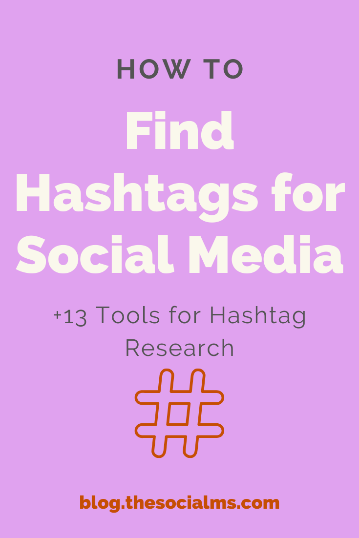 Hashtags play an important role in social media marketing. Used at the right time and in the right context a hashtag has the power to multiply the visibility of your social media update far beyond your followers. Do you know how to find hashtags with the power to boost your social media success? #hashtag #hashtags #findhashtags #hashtagresearch #socialmedia #socialmediamarketing #socialmediatips