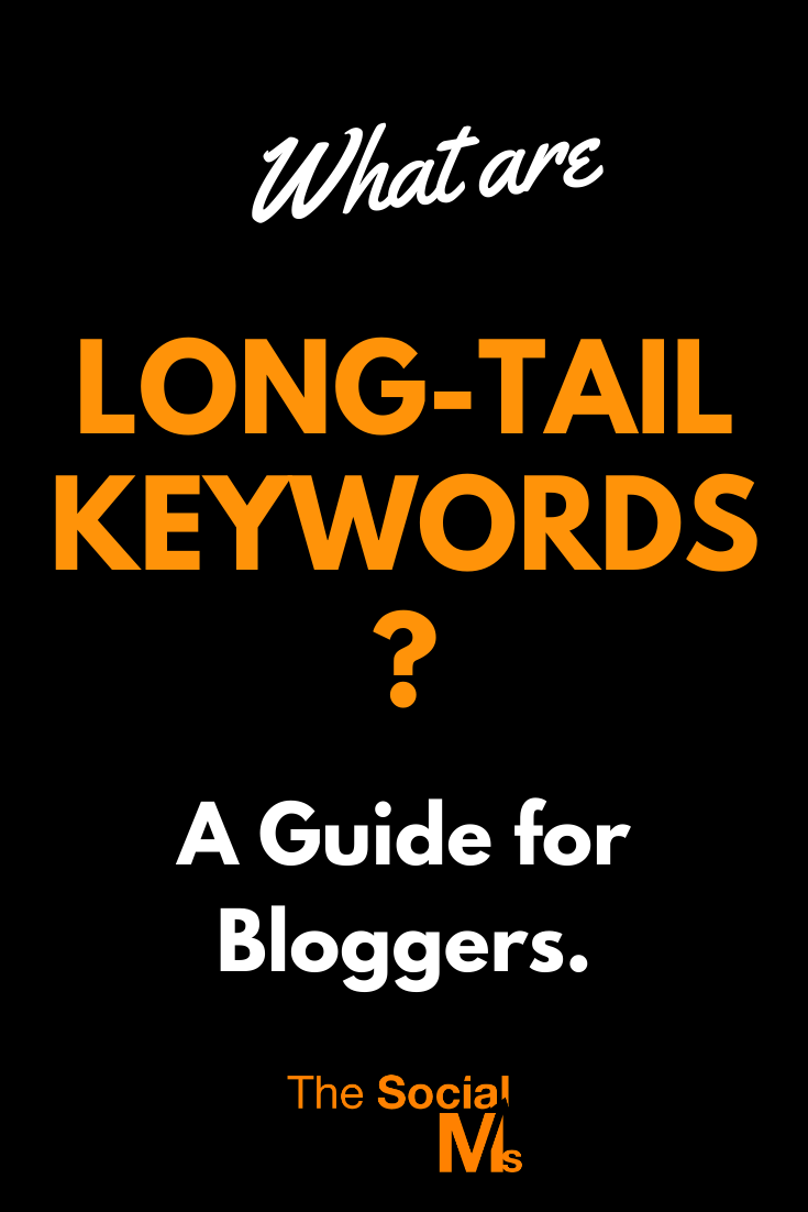 In this post, you will learn what long-tail keywords are and how you can use them to increase the search traffic to your blog. You will learn about using long-tail keyword SEO for old posts and about long-tail keyword research tools and hacks. #seo #longtailkeywords #keywordresearch #seostrategy #seotactic #searchtraffic #blogtraffic #trafficgeneration #keywordstrategy