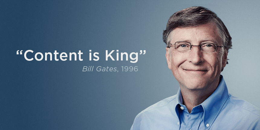 Bill Gates - Content is King