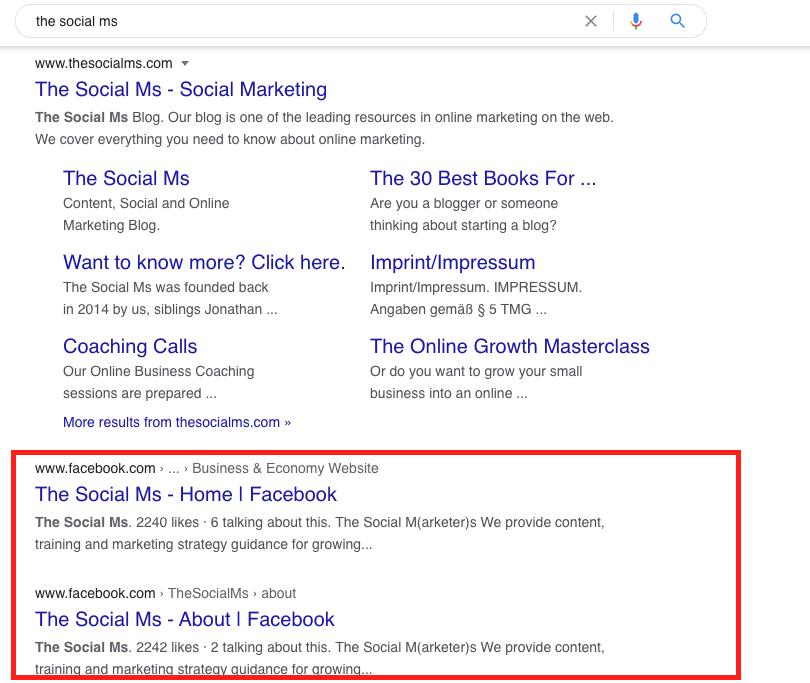 Social Signals as a Google Ranking Factor