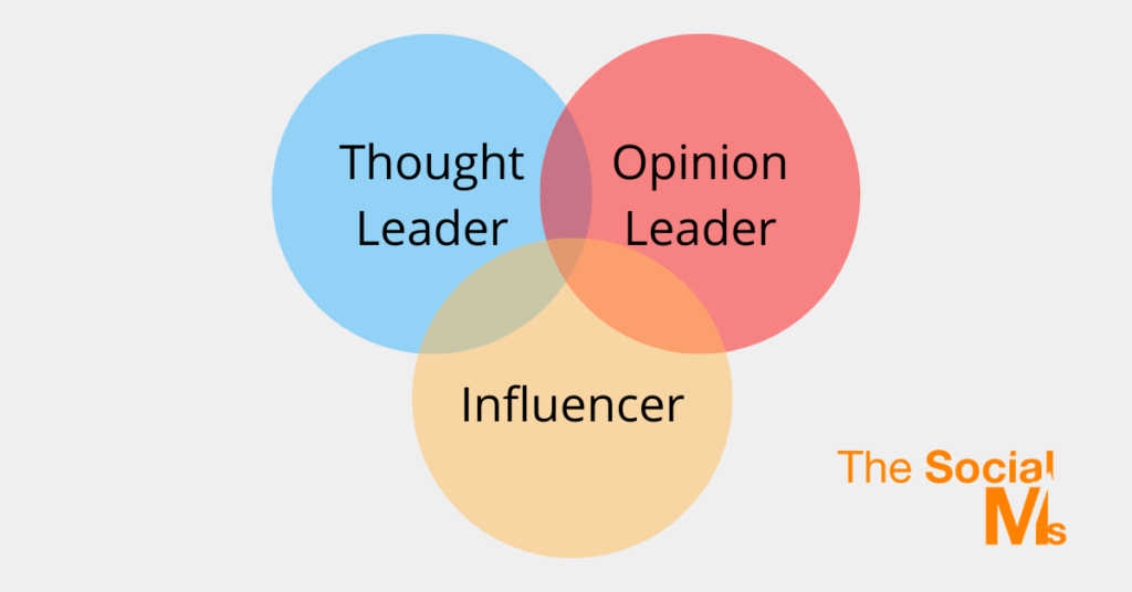 Thought Leader vs Influencer
