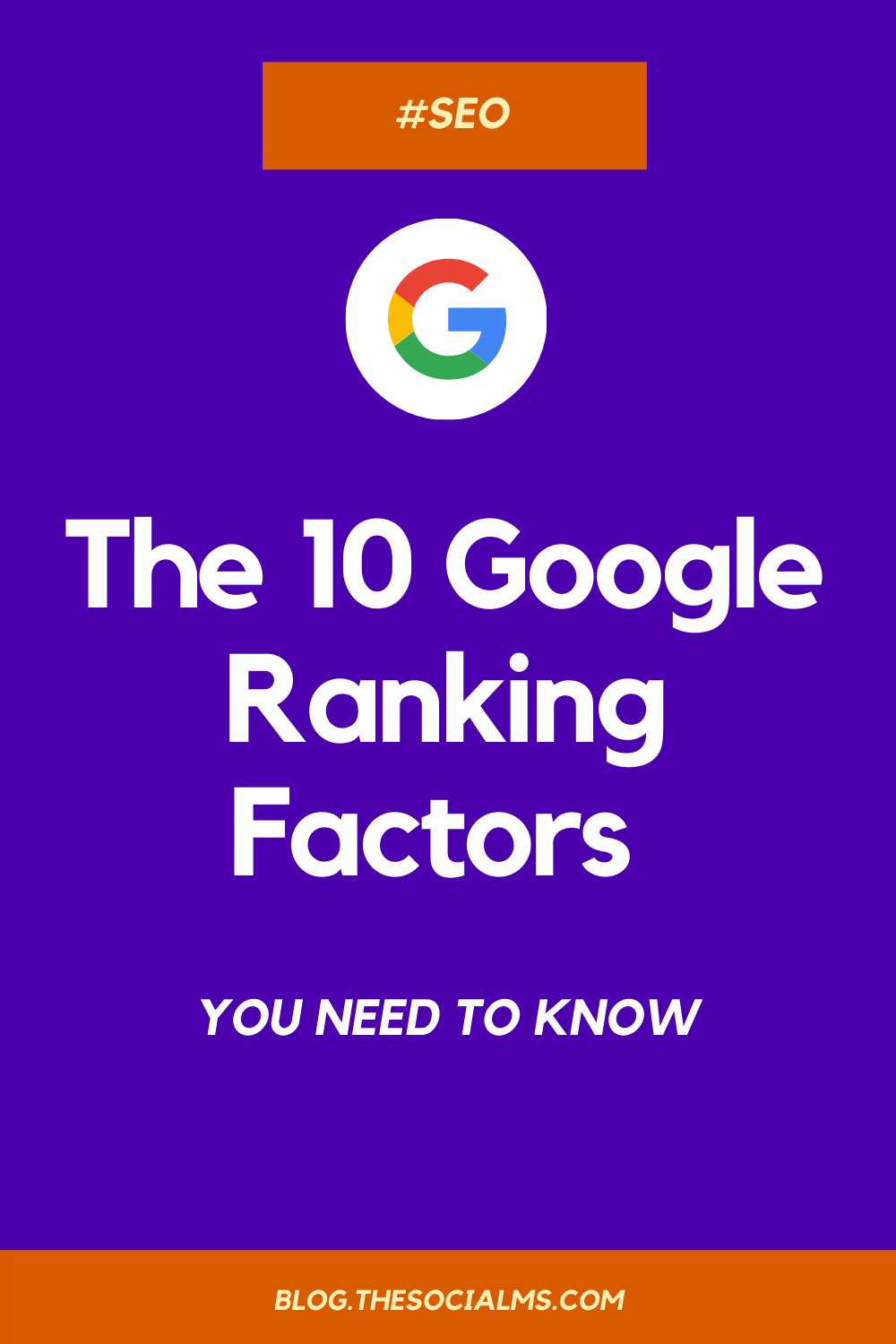 Google ranking factors... There are more than 200 ranking factors in total - that we know. And probably more that Google keeps hidden inside their algorithms. Do you seriously have to know all of them? the 10 most important ranking factors of 2020, and describe how they work. #seo #googlerankingfactors #seofactors #rankingfactors #googlesearch #searchtraffic #googleoptimization #seotips #seohacks