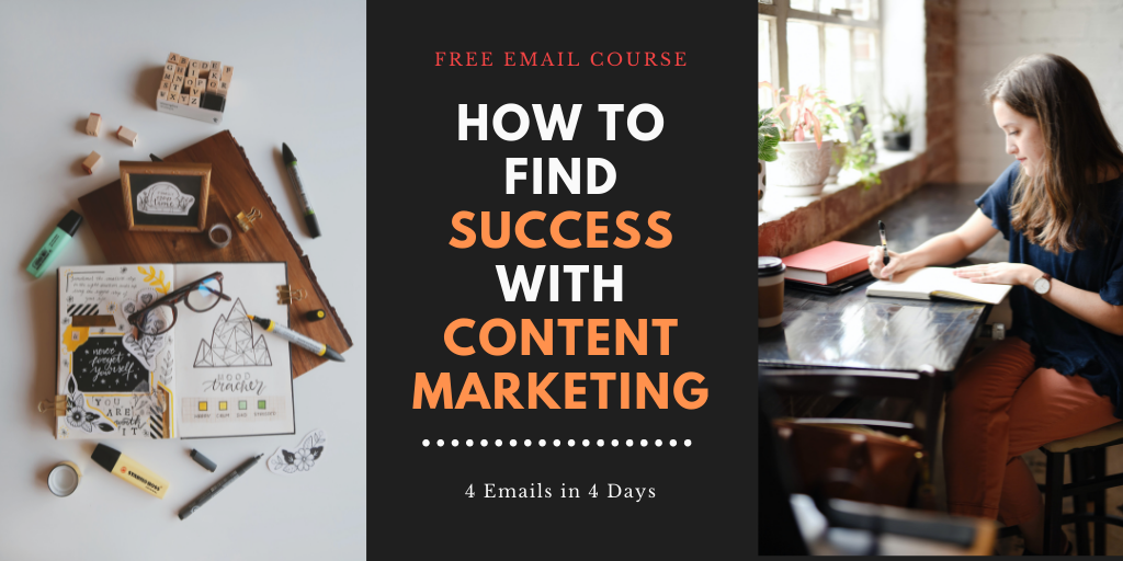 Join us for a free email course about content marketing!