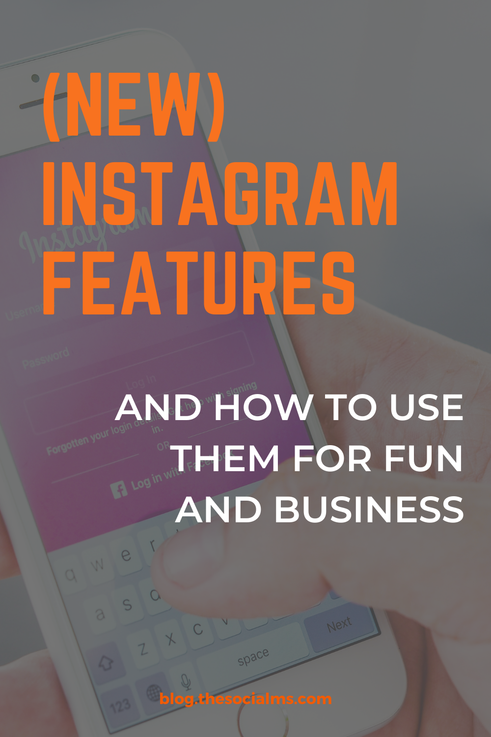 Instagram is releasing new features all the time. There are awesome instagram features that you are probably not using yet. Here are the best Instagram features that you need to use for your Instagram account. Reach a larger Instagram audience with these new features. #instagram #instagramfeatures #instagramtips #instagrammarketing #instagramtips #instagramstrategy #instagramhacks #instagrambestpractices.