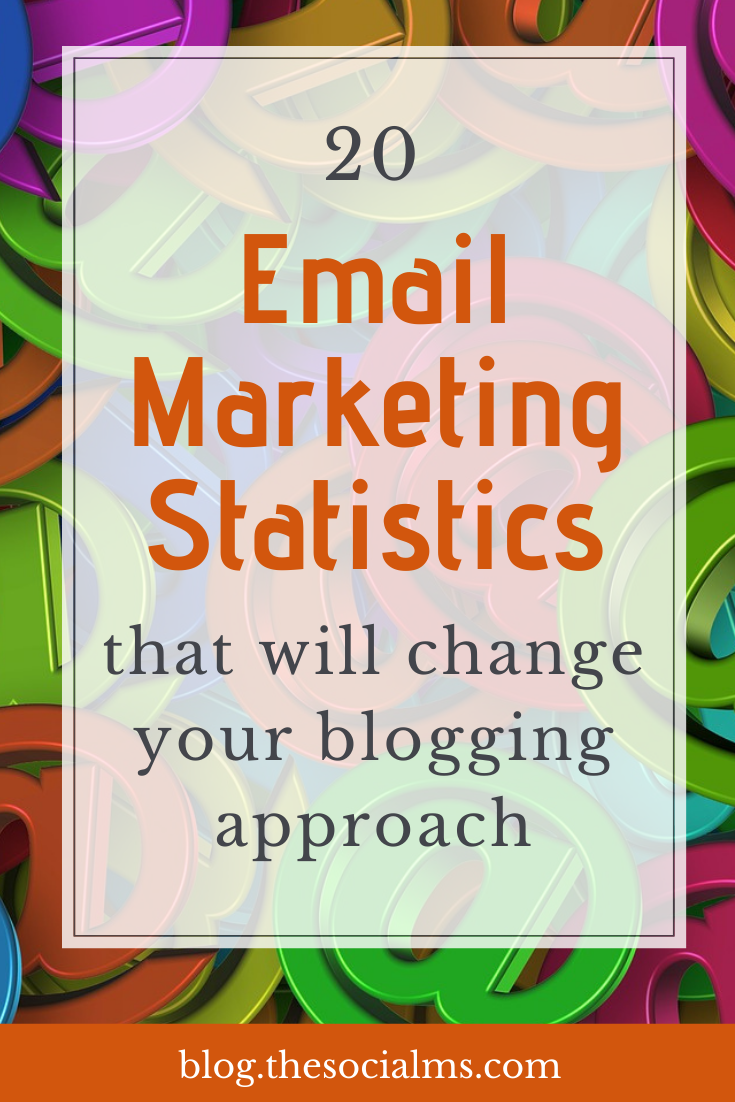 Email marketing is an important marketing channel. start growing your email list. These email marketing statistics prove the importance of email. But they also give you some tips and hints on how you can improve your blogging success through your email marketing efforts. #emailmarketing #emailmarketingtips #emailmarketingstatistics #marketingstatistics #marketingfacts #emailmarketinghacks #salesfunnel #listbuilding #emailmarketingbestpractices