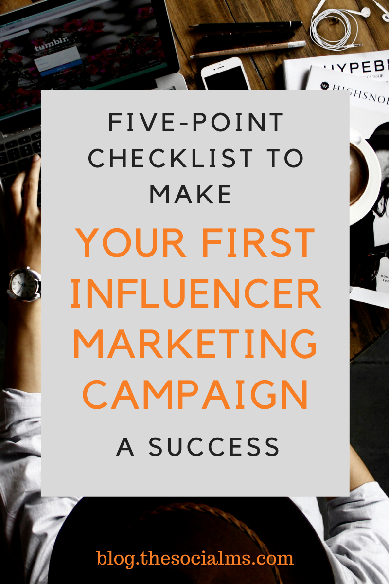 Influencer marketing is a hugely powerful tool, providing impressive opportunities for all kinds of different brands. Here are 5 points you need to check before your influencer marketing campaign goes live. Give your influencer campaign the best start and make it a roaring success. #influencermarketing #influencercampaign #influencermarketingcampaign #onlinemarketingstrategy