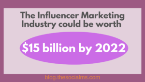 The Influencer Marketing Industry could be worth 15 billion by 2022