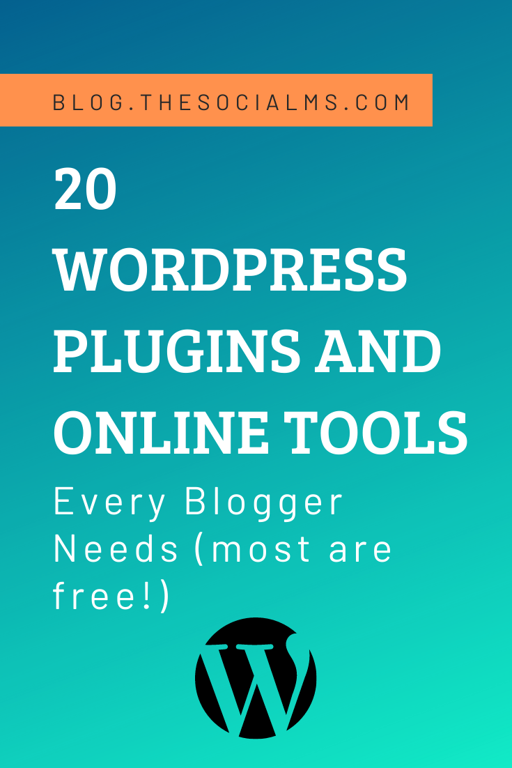 There are almost 60,000 WordPress plugins in the official plugin directory, there are 1000s of tools and web services, and no one to actually tell you which plugins and tools you need. Here are 20 tools and WordPress plugins that every blogger really needs or at least will need when reaching a certain stage in their blogging journey. #wordpress #wordpressblog #wordpressplugin #wordpressplugins #wordpresstips #bloggingtips #bloggingtools #blogginghacks #blogsetup #blogging101