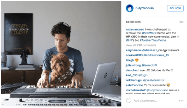 Instagram HP Influencer