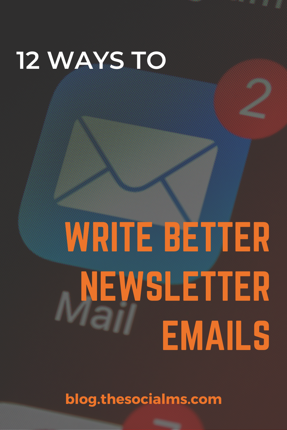 """How to write better newsletter emails is a pinnacle of online marketing. """"The money is in the list!"""" is one of the most often repeated mantras of bloggers and marketers. how do you write good email newsletters? What makes a good newsletter? How can you convert more people with every email? #emailmarketing #salesfunnel #newsletter #emailmarketingtips"""