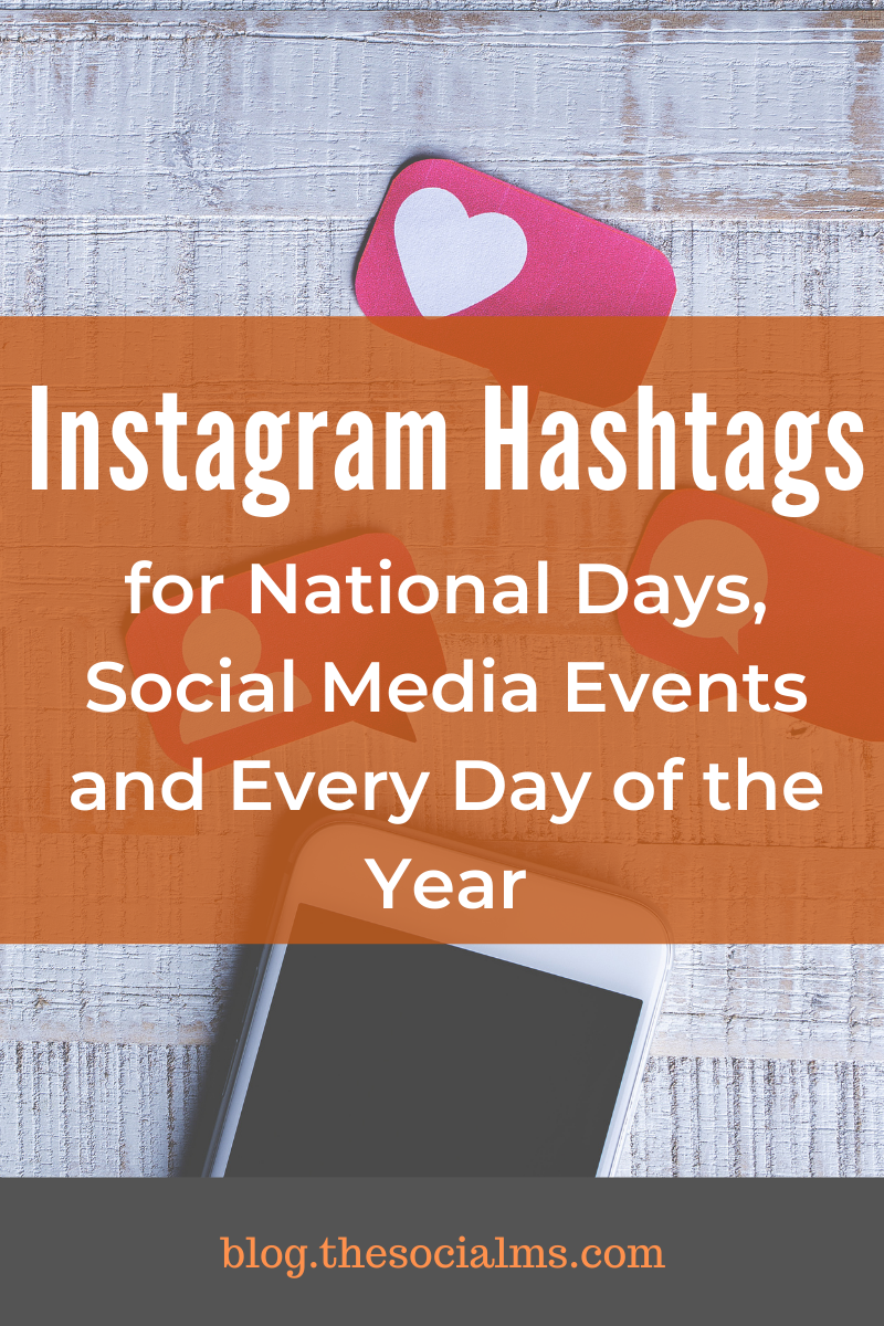 Do you know where the Instagram hashtags for social media events and celebrations come from? If you know where to look, you can choose hashtags relevant to your niche - or just hashtags to spice up your social media activity. #instagram #instagramhashtags #instagramtips #instagramevents #instagrambestpractices #instagrambasics #instagramhacks