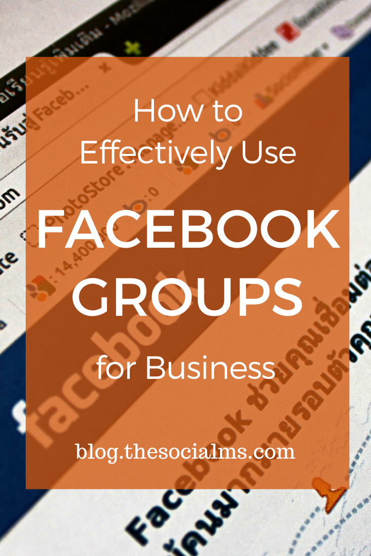 Facebook groups are a big thing in marketing. there is more to Facebook groups for blogs or businesses than just joining them in large numbers. Here is how to use Facebook Groups for blog or business. #facebook #facebookgroups #facebooktips #facebookfeatures