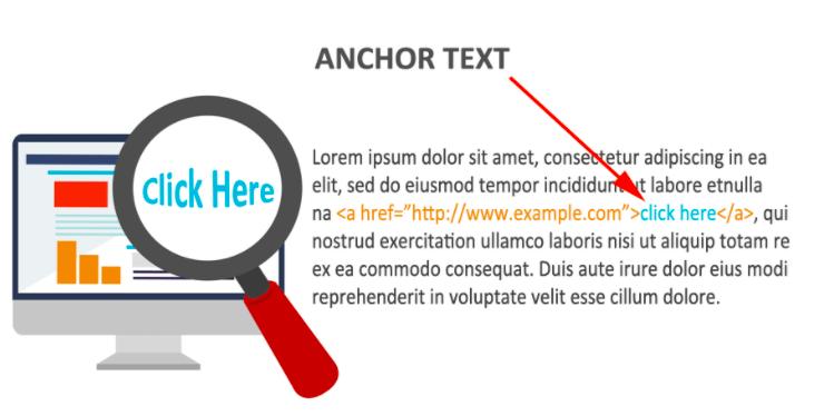 Anchor text explanation