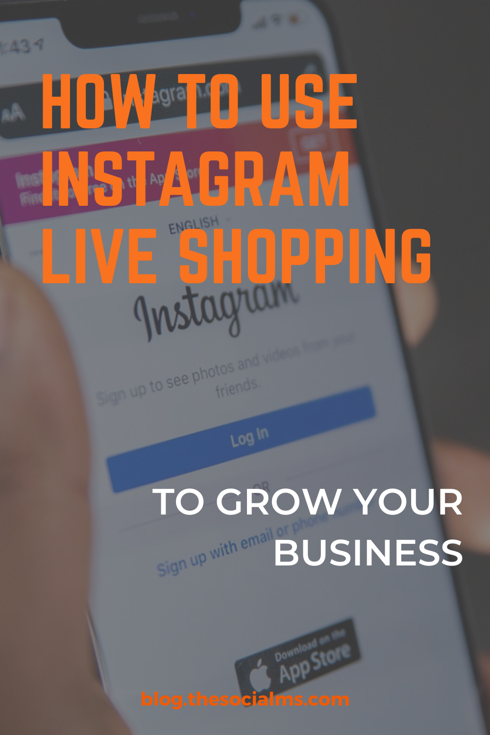 Not long after its release, Instagram took social media by storm. Instagram is now becoming a name in e-commerce. Instagram Live Shopping is a new and innovative form of marketing products on Instagram #instagram #instagramfeatures #instagramtips #instagrammarketing