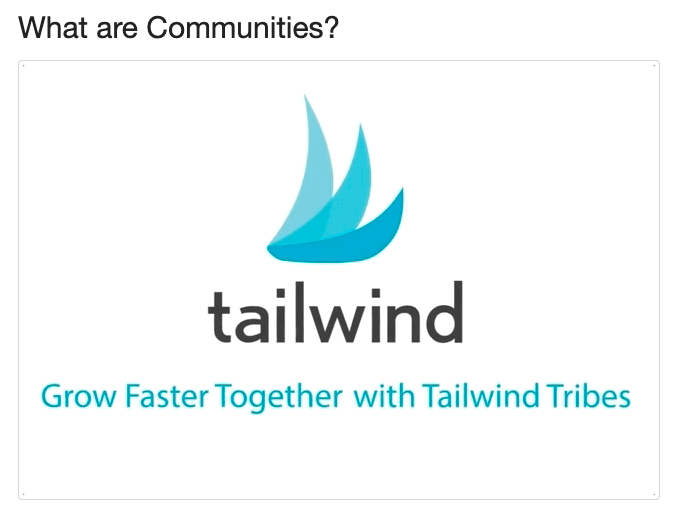 Use Tailwind Communities to promote your blog pins