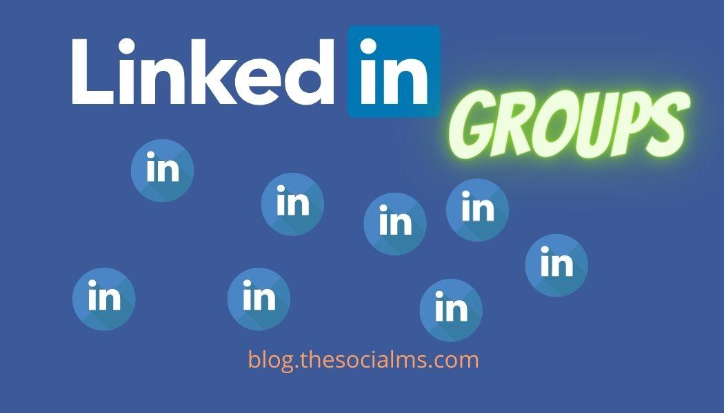 Promote blog posts via linkedin groups