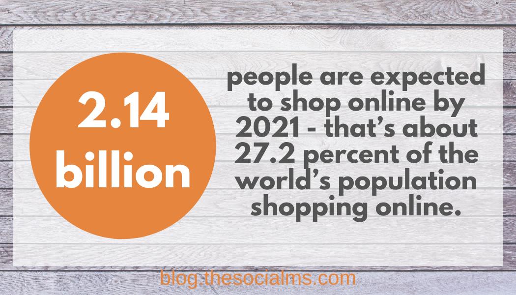 more people shop online